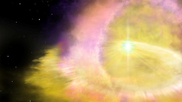 פיצוץ סופר נובה סופרנובה (צילום: רויטרס)