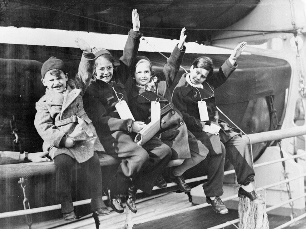 עשרת אלפים ילדים יהודים הועלו על הקינדר-טרנספורט (משלוח ילדים), במסגרת מבצע שהובילה ממשלת בריטניה עם קבוצת יהודים (צילום: GettyimagesIL)