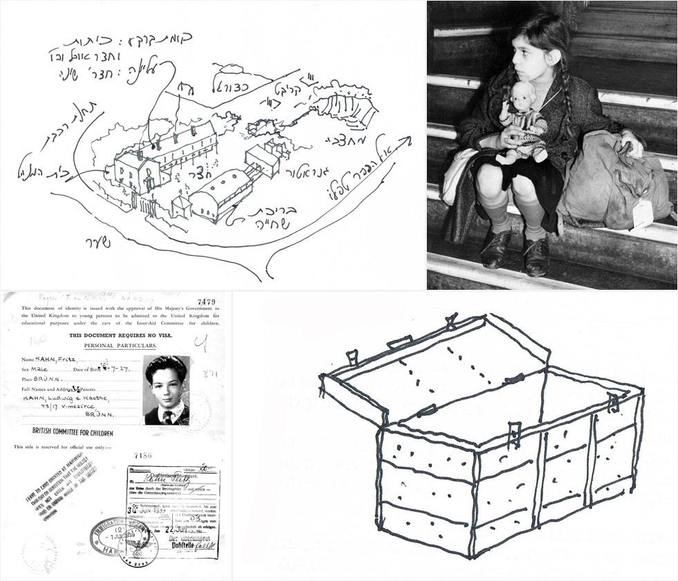 זיכרונותיו של פריץ קאהן, היום פרדי כהנא, מגלגולי המסע החשאי ההוא מצ'כיה עד לונדון (צילום: אוסף פרטי של פרדי כהנא ו Fred Morley/GettyimagesIL)