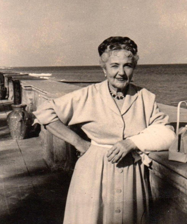 הלנה ברדה, סבתא של מרישה. היא ובעלה הנוצרי הצילו את המשפחה ()