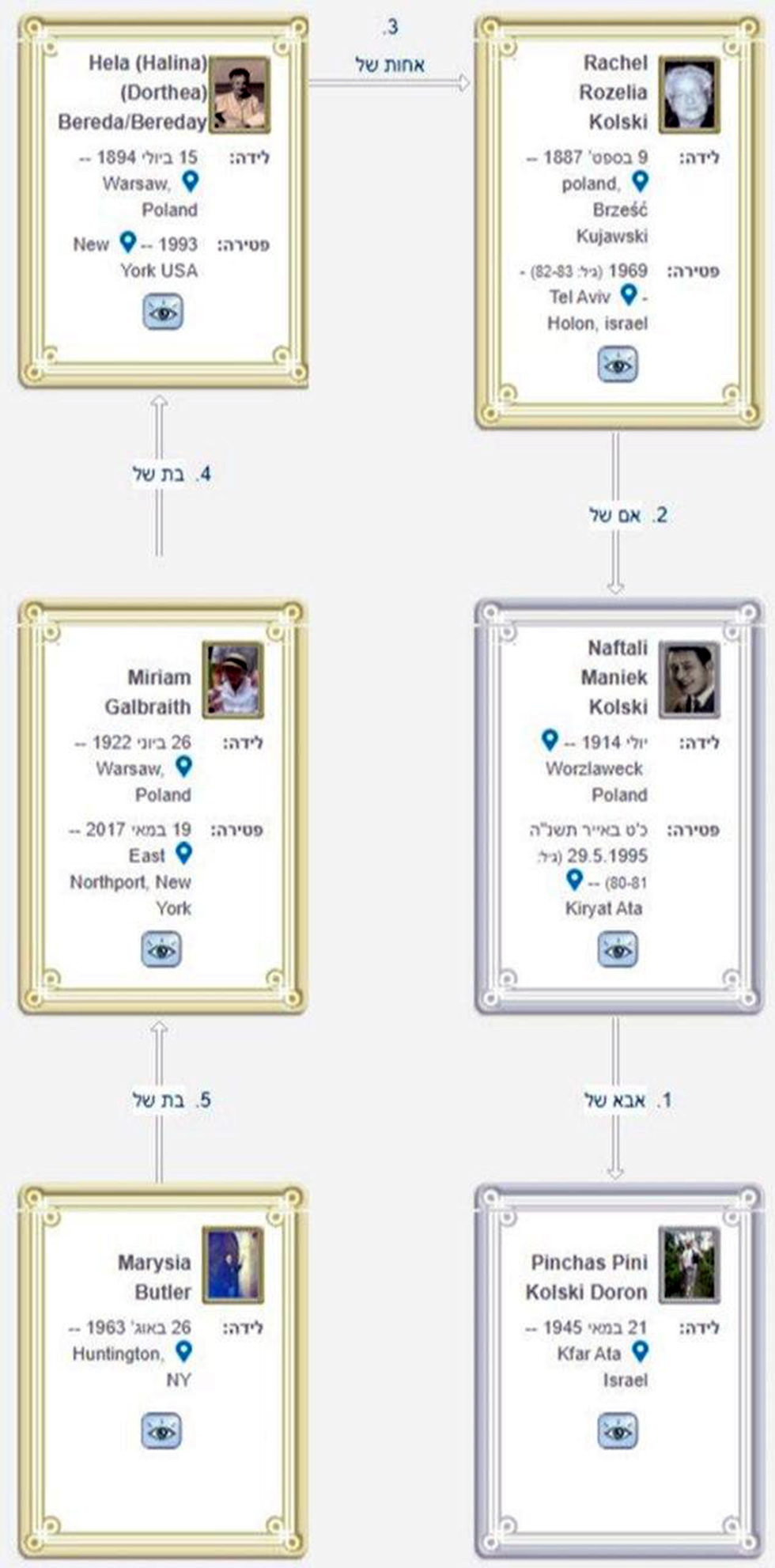 הקשר המשפחתי בין פיני למרישה ()