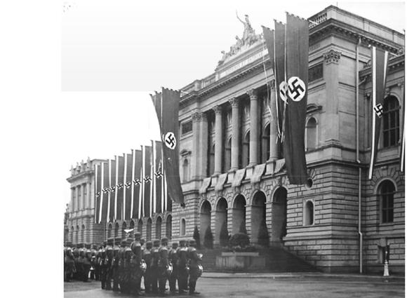 מעשי זוועות. חנוכת האוניברסיטה הנאצית בשטרסבורג, 1941 (צילום: אוניברסיטת שטרסבורג)