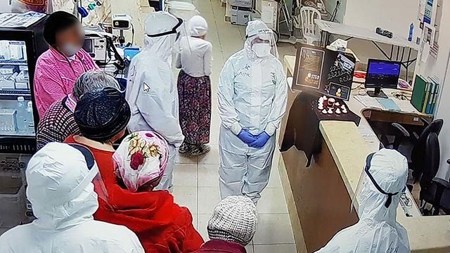 מתייחדים עם ששת המליונים במחלקת ההתפרצות קורונה-כתר בבי
