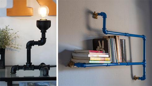 ממדף ספרים עד מנורה (צילום: נויה שילוני חביב)