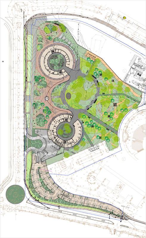 אם יהיה צורך, ייבנה גם בניין שלישי על הפארק (תוכנית: פיק אדריכלים בשיתוף רני זיס אדריכלים. אדריכלית נוף חלי אלול צלינקר)