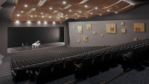 זה יהיה האולם הגדול ביותר בעיר (הדמיה: ניר לוי, גרי קרוגלוב)