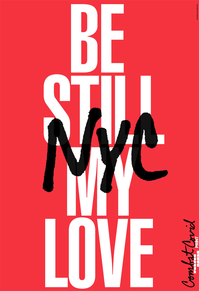 באהבה מג'ניפר קינון ובובי מרטין (Courtesy of Poster House and Times Square Arts)