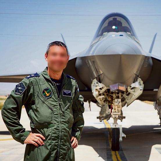 """מפקד טייסת 140 , סא""""ל טל. """"האדיר יודע לייצר לבד את המטרה"""""""