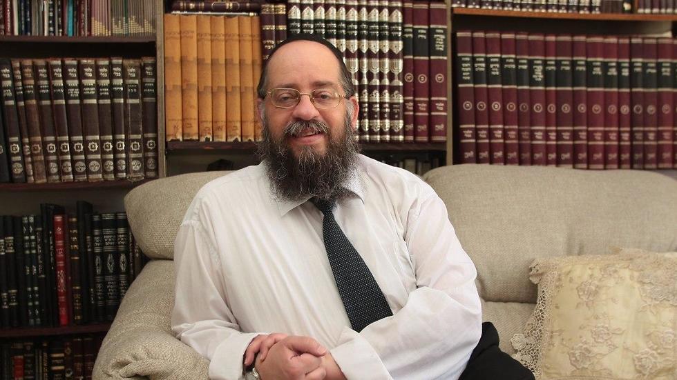 הרב ישעיהו הבר (צילום: איתמר רותם)