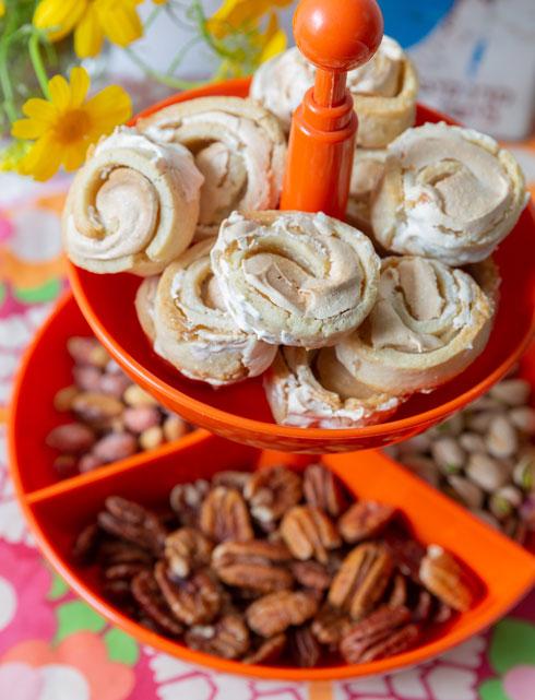 עוגיות שושנים  (צילום: יעל אילן, סגנון, נעמה רן)
