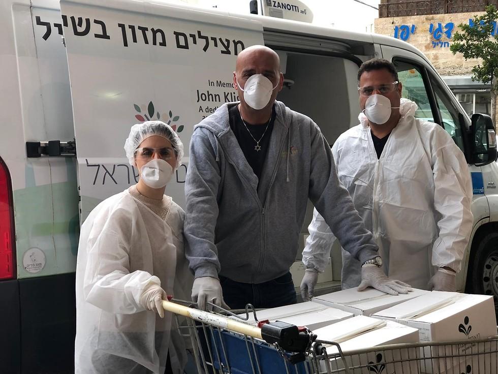 מאסטרקארד למען לקט ישראל (צילום: לקט ישראל)