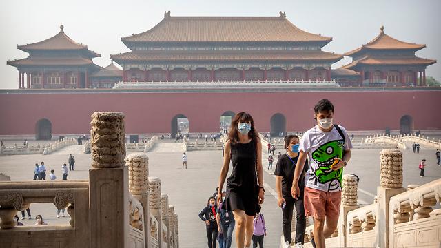 נגיף קורונה סין פתיחה מחדש של העיר האסורה בייג'ינג (צילום: AP)