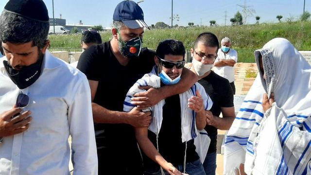 הלוויתו של שיראל חבורה (צילום: יוסי דמארי)