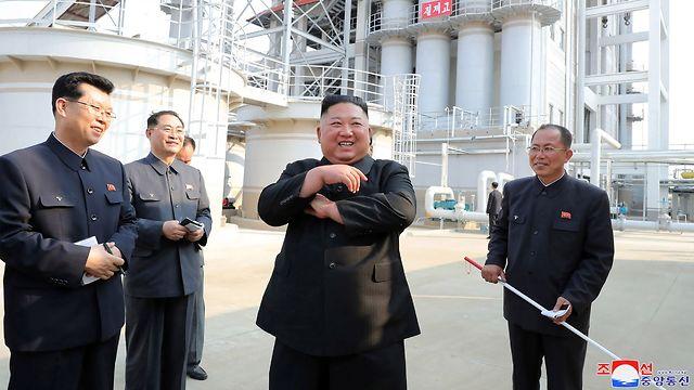 לדברי פיונגיאנג התמונות צולמו אתמול (צילום: AFP)