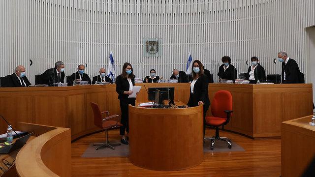 הדיון בבית המשפט (צילום: יוסי זמיר)