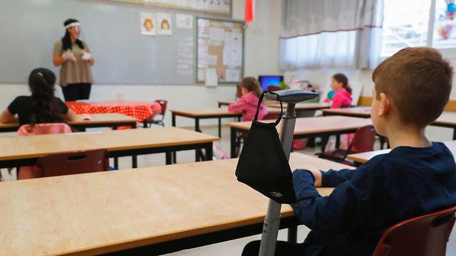 חוזרים ללימודים בפרדס חנה כרכור (צילום: AFP)