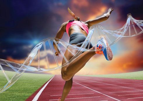 """הנבדקים במחקר שנאמר להם שהם לא מצוידים גנטית ביכולת ריצה גילו סבולת נמוכה יותר והפסיקו לרוץ מוקדם יותר לעומת חבריהם """"מבורכי הגנים"""" (צילום: Shutterstock)"""