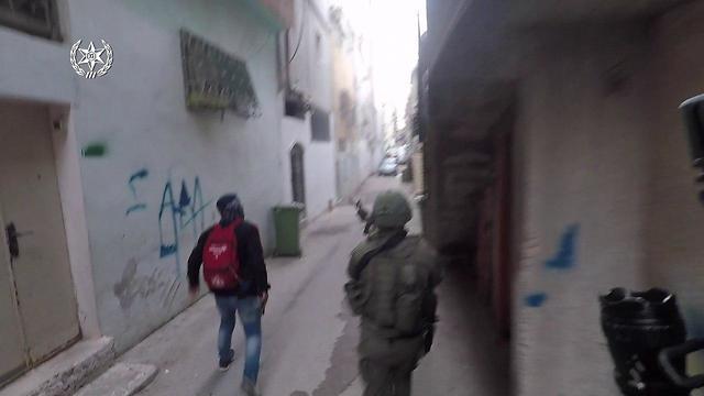 תיעוד: ירי במחנה הפליטים שועפט (צילום: דוברות המשטרה)