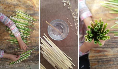 יצירות מהטבע (צילום: אילנה שטיין, לוח שנה בגינה)