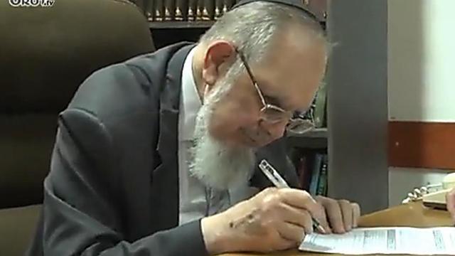 הרב נחום אליעזר רבינוביץ (צילום: אורות)
