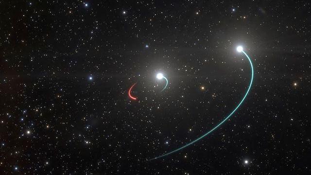 החור השחור HR 6819 (צילום: AP)