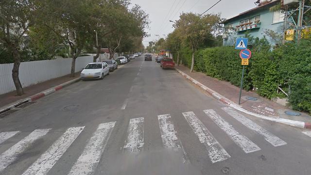רחוב הנשיא בקריית אונו ()