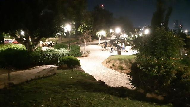 פארק הר הבנים ברמת גן (צילום: עמית הובר )