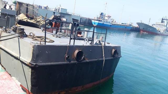 איראן מאשימה את ישראל בשרפה של ספינת קרב איראנית במפרץ עומאן 9960407099984640360no