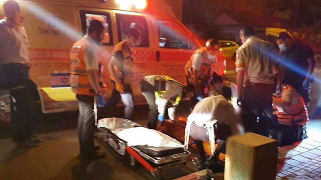 זירת התאונה (צילום: יקיר יעקב קיסין תיעוד מבצעי מד