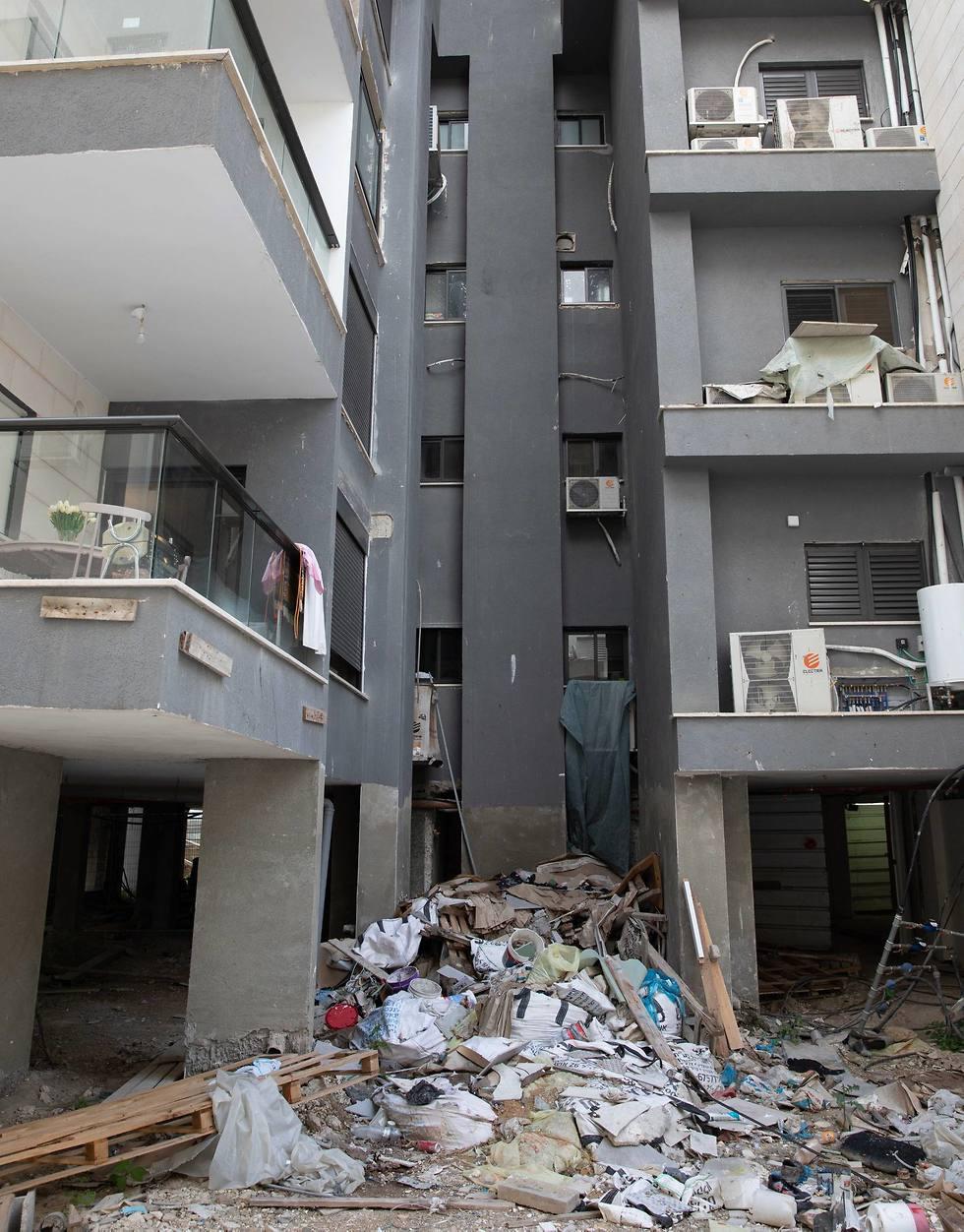 הבנין ברחוב זימן 4 בתל אביב  (צילום: עוז מועלם)