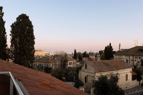 נוף ממרפסת הגג (צילום: שירן כרמל)