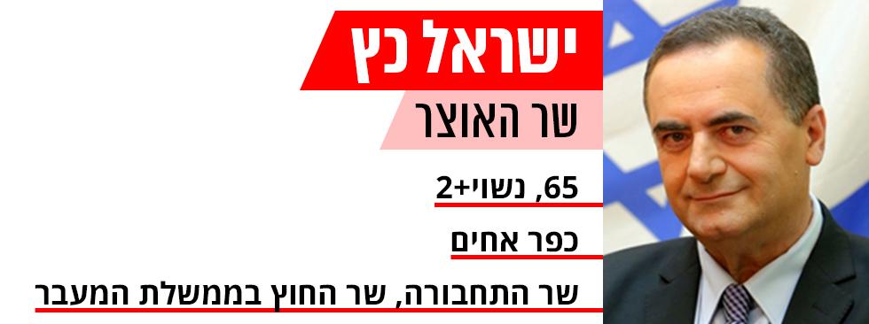 ישראל כץ תעודות זהות ממשלה חדשה ()