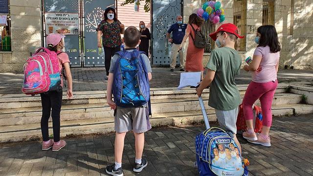 תלמידים במודיעין (צילום: שמוליק דודפור)