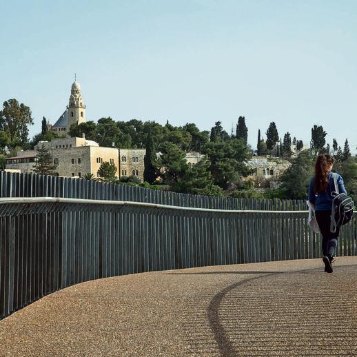 גשר בני ברית. הנוף הכי יפה בעיר | צילום: אוהד צויגנברג