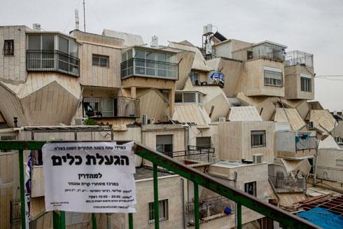 המשפחות מרובות הילדים לא מצאו כאן אופציה להתרחב. האדריכל אינו כועס על התוצאה (צילום: אוהד צויגנברג)