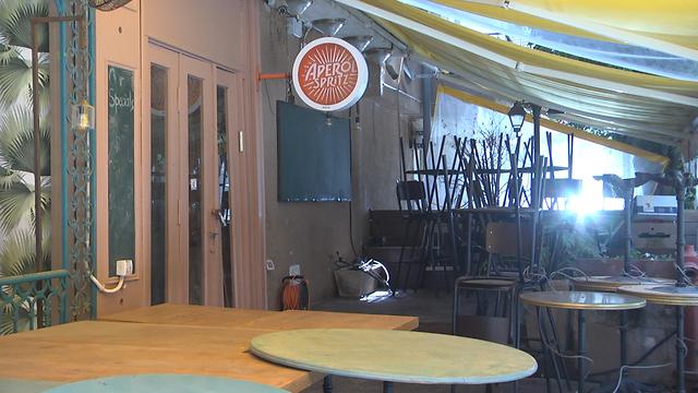 מסעדות במשבר כלכלי בצל נגיף הקורונה בישראל (צילום: ניצן דרור)