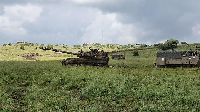 תרגיל לבוחן הרף של המלחמה בצפון (צילום: יואב זיתון )