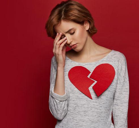 """""""גם אם  יכאב לך הלב, זה עדיף מאשר בזבוז של עוד שנה מהחיים שלך"""". צילום אילוסטרציה (צילום: Shutterstock)"""