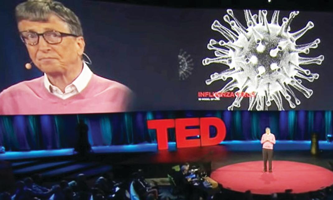 הסיכון שווירוס כזה יגיע היה מאוד גבוה. גייטס מתריע מפני מגפה בהרצאה ב־ 2015