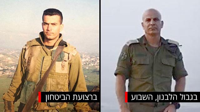 חצי חצי רסאן עליאן לבנון ישראל רצועת הביטחון (צילום: ירון שרון, מהאלבום הפרטי)