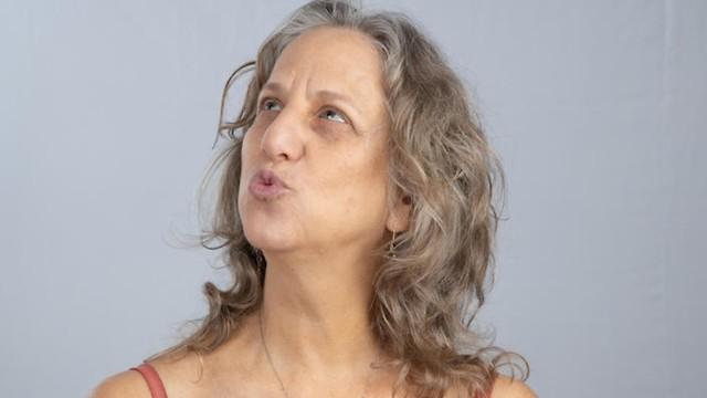 יוגה פנים (צילום: ענבל שני)