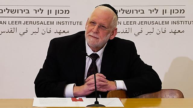 הרב פרופ' נפתלי רוטנברג (צילום: תמר עבדי - מכון ון ליר)