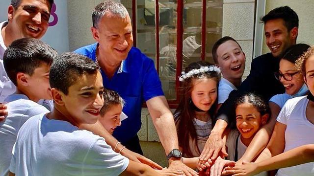 פתיחת מתחם הסטארטאפים בקריית שמונה בהשתתפות אראל מרגלית (צילום: שרון ניסמיאן)