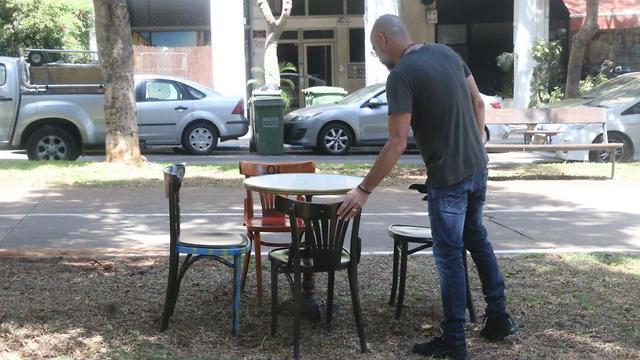 מסעדת מיט בר בתל אביב (צילום: מוטי קמחי )