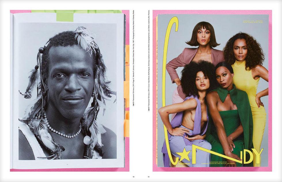 """""""רציתי לחגוג את הסגנון, האופנה, היצירתיות והמופלאות של מה שאני מכנה אנשים טרנסברסאליים"""". מגזין C☆NDY (צילום: באדיבות לואיס ונגס)"""