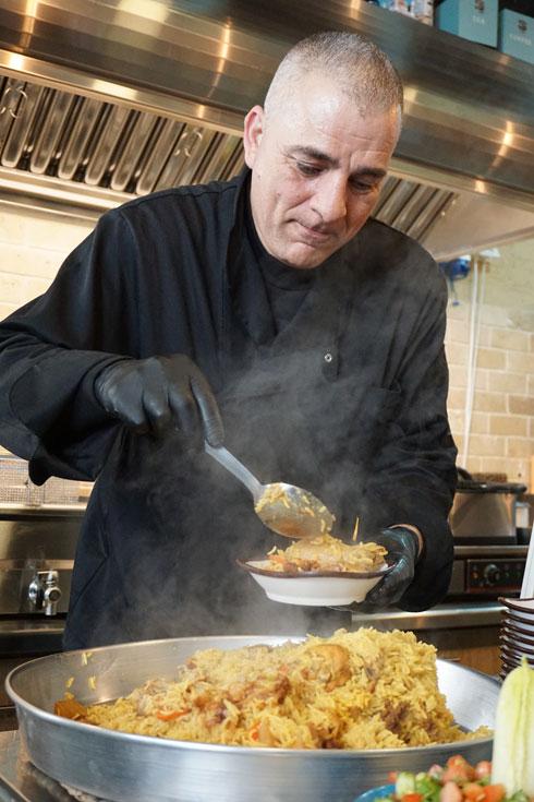 ממקלובה ועד כנאפה. מסעדת טורקיז   (צילום: צביקה בורג)
