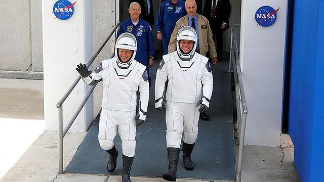 """ברגע האחרון: נדחה שיגור האסטרונאוטים לחלל מארה""""ב 99976240100994640360no"""
