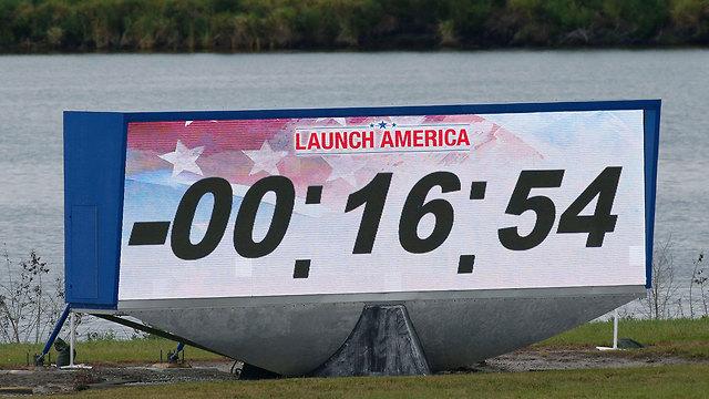 """ברגע האחרון: נדחה שיגור האסטרונאוטים לחלל מארה""""ב 99977880991599640360no"""
