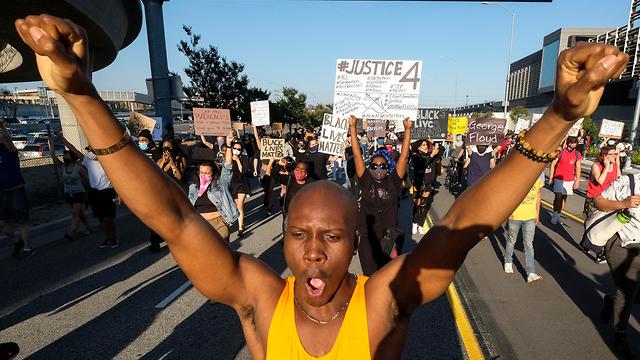 לוס אנג'לס מהומות הפגנה לאחר מות ג'ורג' פלויד ארה
