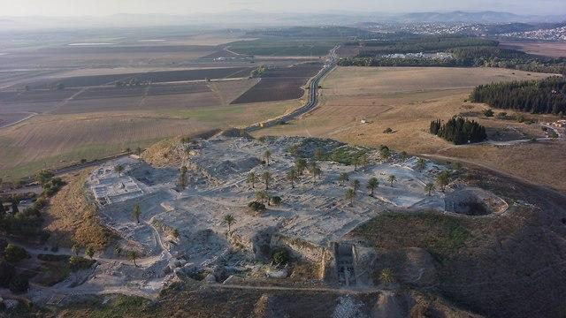 תל מגידו (צילום: משלחת מגידו)